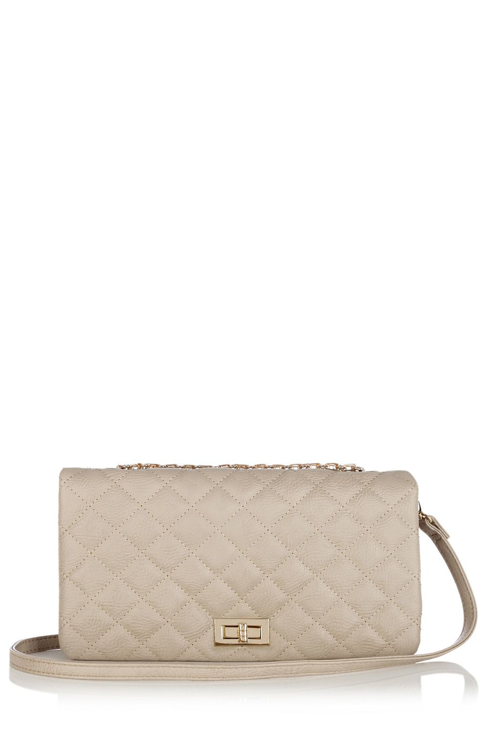 Capni Quilted Clutch Cross Body