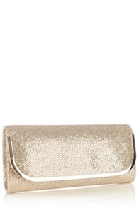 Cahir Glitter Clutch Bag