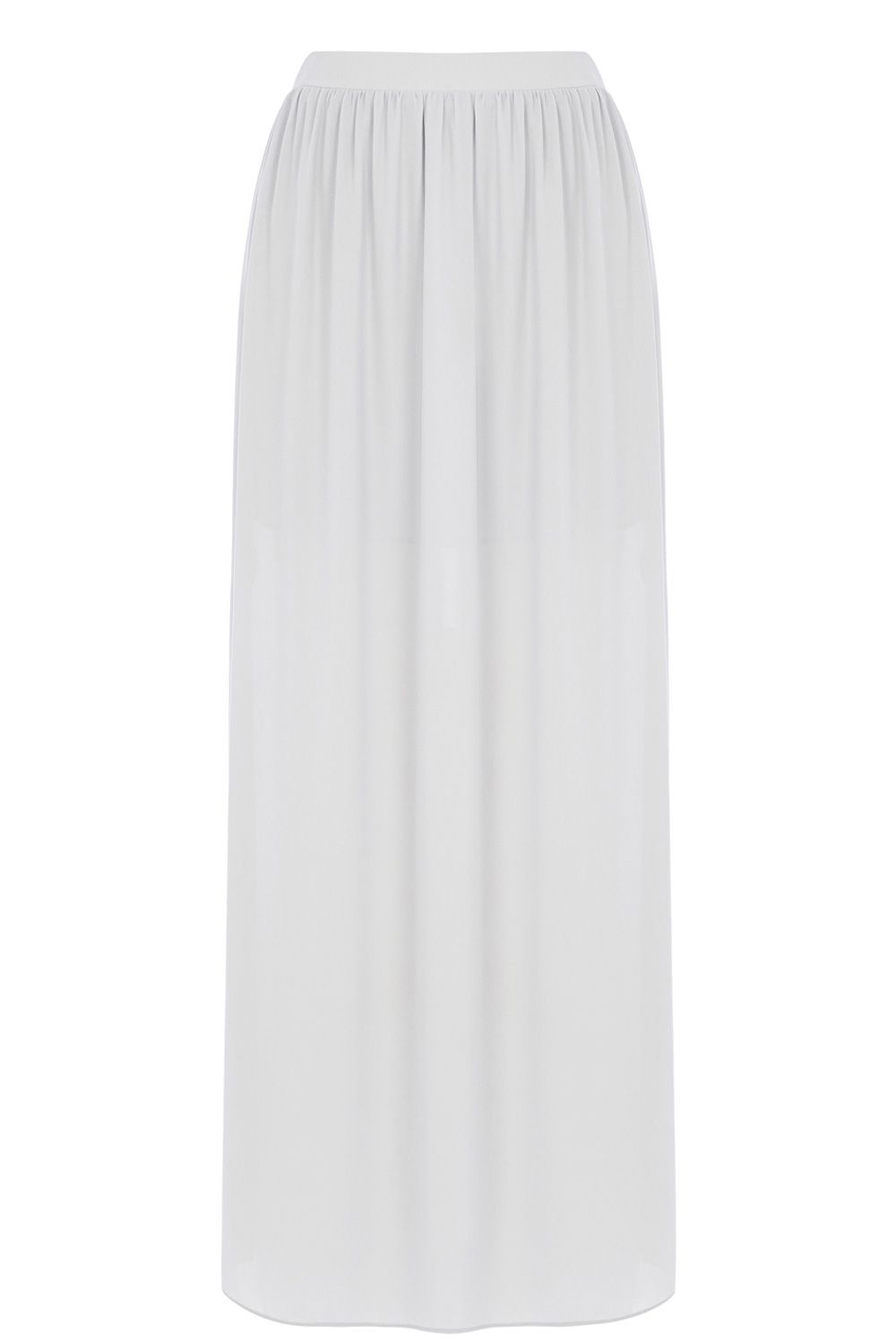 Side Split Maxi Skirt