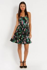 Bandeau Cherry Blossom Dress