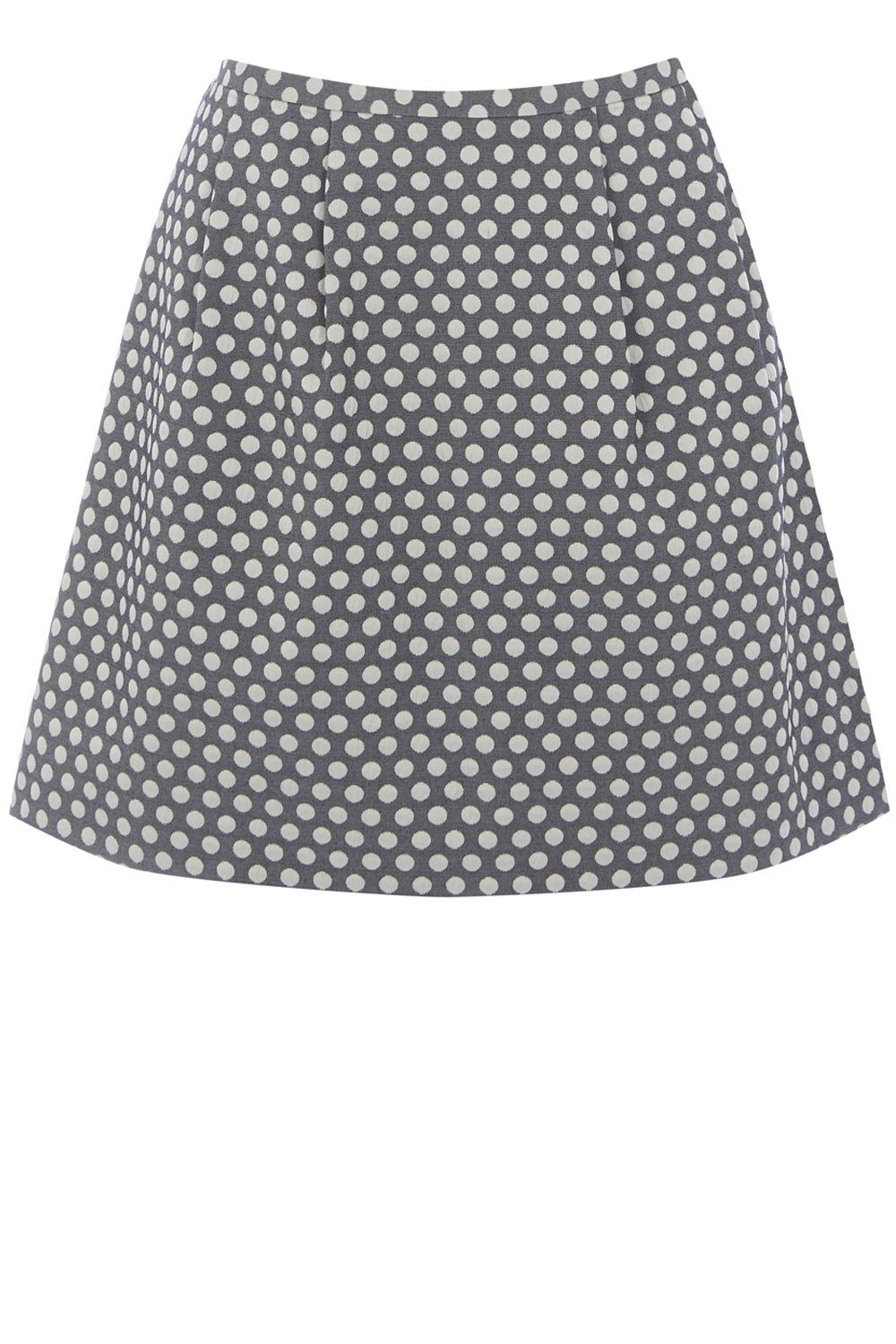 Spot Jacquard Full Skirt