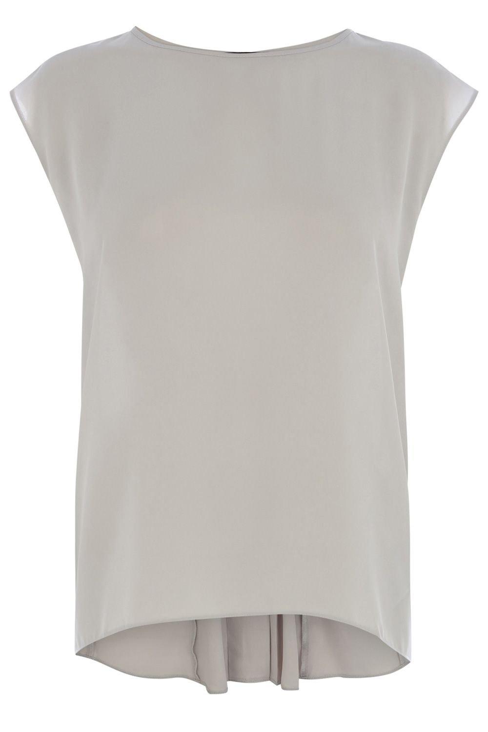 Pleat back T-shirt