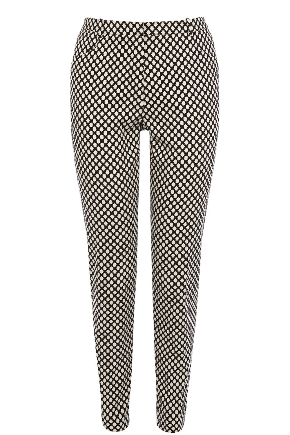 Geo club print trousers