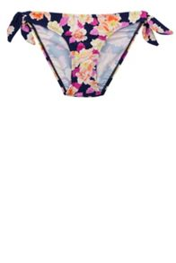 Watercolour Orchid Bow Side Pants
