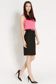 Gina Belted Pencil Skirt