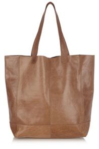 Leather Unlined Shopper