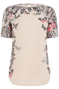 Cascading Butterfly Woven Front
