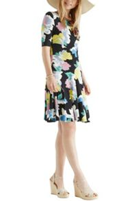 Bold bloom dress
