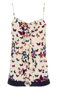 Butterfly Frill Front Camisole