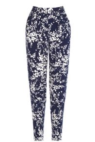 Clustered Shadow Print Trouser