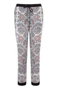 Paisley Soft Print Trousers