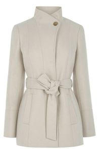 Oasis Phillipa Funnel Neck Coat