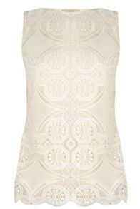 Oasis Deco Lace Shell