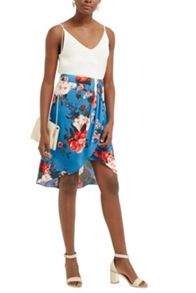 Oasis Romantic Rose Skirt