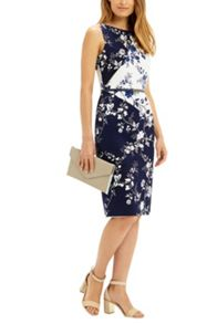 Oasis Sashiko Pencil Dress