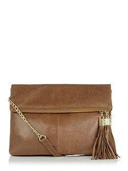 Leather Freda Satchel