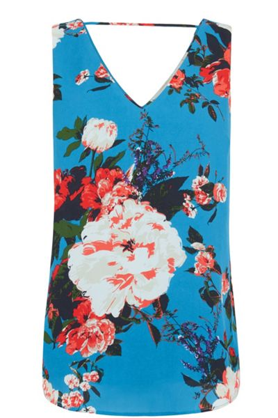 Oasis Romantic Rose Vest