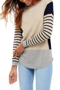Oasis Colour Block Sweater