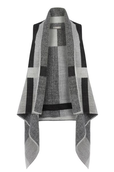 Oasis Sleeveless Check Wrap