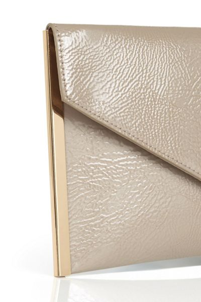 Oasis Patent Envelope Clutch