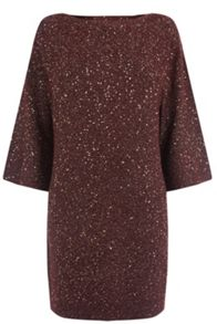 Oasis Sequin Yarn Dress