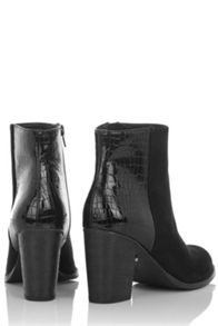 Oasis Maddie Snake Patched Boot