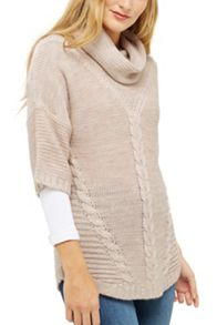 Oasis Trapeze Cowl Neck Jumper