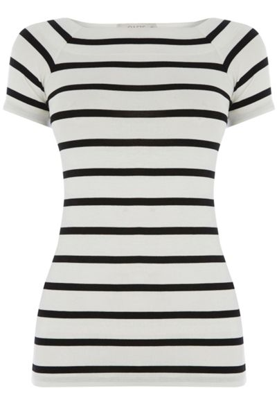 Oasis Stripe Boatneck Top
