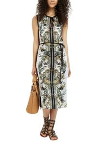 Oasis Palm Placement Column Dress