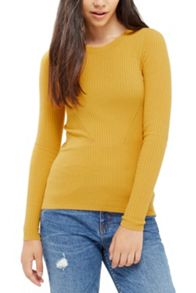 Oasis Long Sleeved Rib Top
