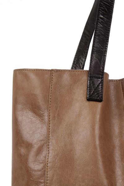 Oasis Leather Shopper Bag