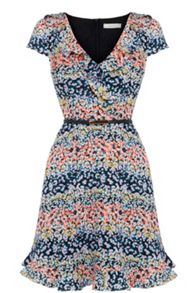 Oasis Ditsy Frill Dress
