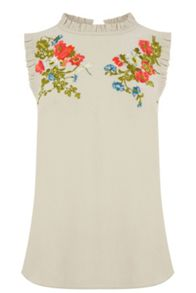 Oasis Embroidered Top