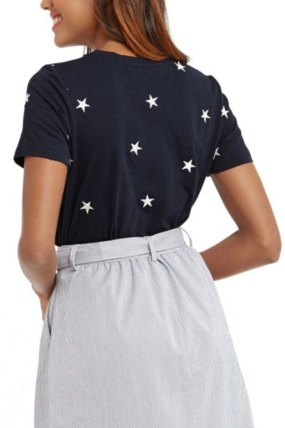 Oasis Star Embroidered Tee