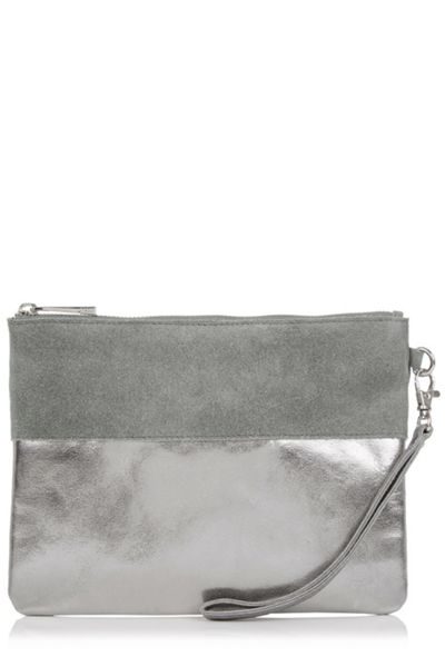Oasis Flossy Patched Purse