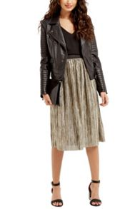 Oasis Metallic Skirt