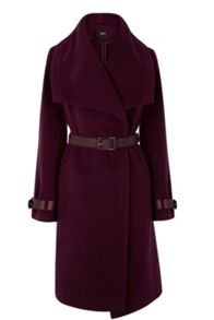 Amy Clean Belted Drape