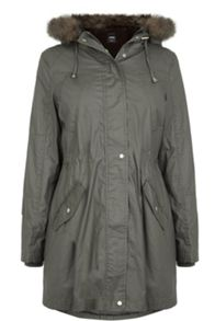 Oasis Harriet Waxed Parka