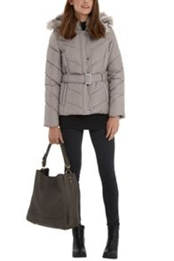 Oasis Gemma Short Padded Coat