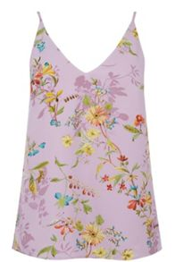 V&A Anna Maria Shadow V Neck Cami