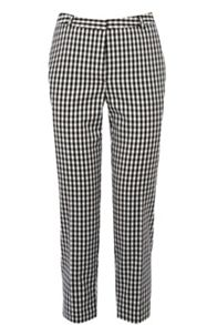 Small Gingham Capri Trouser