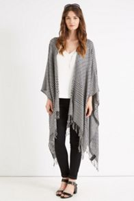 Aztec Fringed Wrap