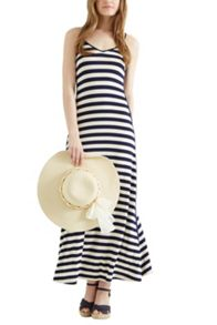 Blocked Side Stripe Maxi