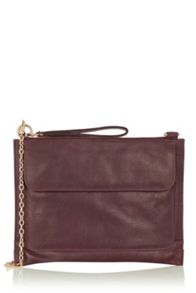 Leather Betti Clutch