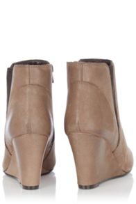 Oasis Elastic Wedge Boot