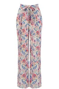 Rainbow Paisley Wide Leg Trouser