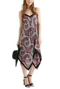 Ibiza Paisley Hanky Hem Dress