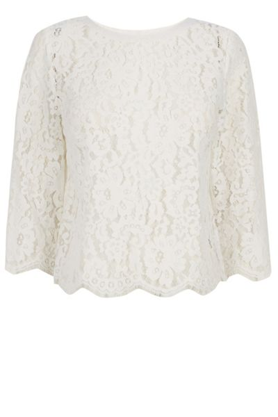 Oasis Katie Lace Top