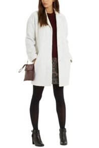 Oasis Lucy Contrast Collar Duster