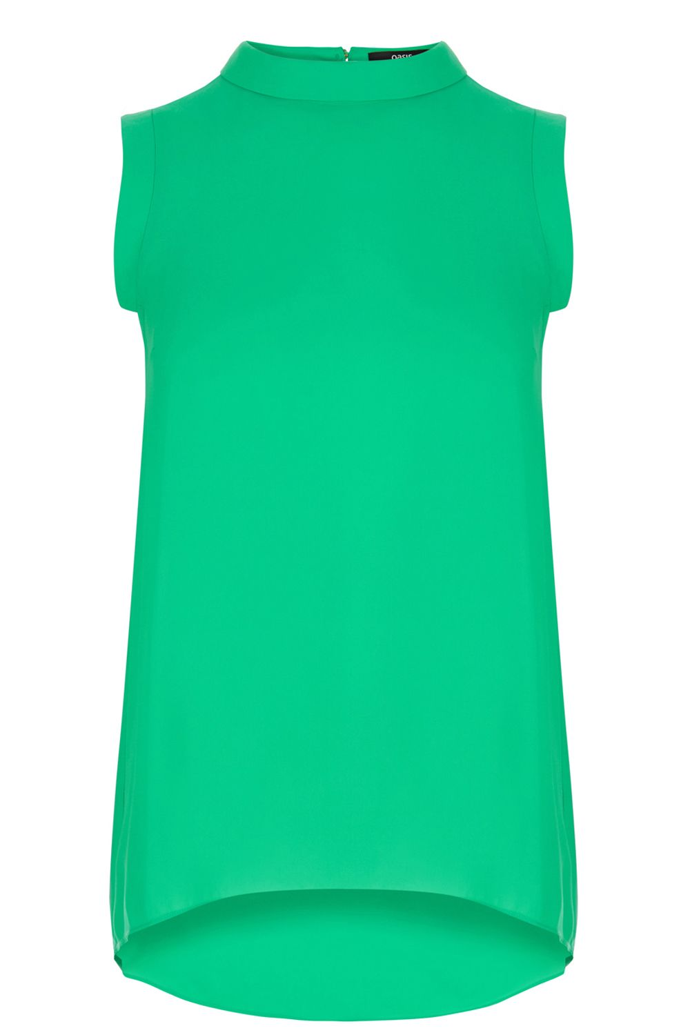 Oasis Roll Neck Tunic Green